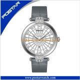 Швейцарский wristwatch повелительниц диаманта Ronda Movt роскошный