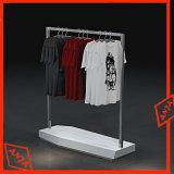 Soporte de visualización de la ropa del metal para la tienda al por menor