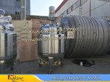 Tanque de reação com revestimento de vapor 1000L