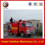 Foton 4X2 1500L del tanque de agua del coche de bomberos que lucha