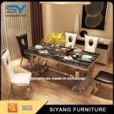 Tabelle pranzanti basse cinesi stabilite della sala da pranzo moderna della mobilia