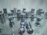 De vierkante Knop van de Vorm, de Kleine Handvatten van de Deur van het Glas