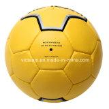 PU-Hand nähte Zoll gedruckte Handball-Größe 3