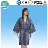 Kimono a gettare del Nonwoven degli abiti di PP/SMS/PE