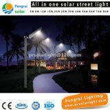 Outdoor Wall Garden Integrated LED Solar Street Light avec batterie Panneau solaire