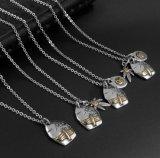 Modèle du bijou 4 de mode d'acier inoxydable du pendant 316L de collier d'aigle