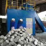 Bloc horizontal de clinquant de poudre de saletés de miettes d'aluminium faisant la machine