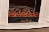 Scultura domestica della mobilia del MDF che riscalda camino elettrico con il LED (339)