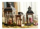 Candela domestica in supporto, candela della colonna della decorazione della cera