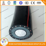 Câble d'alimentation 100% normal d'UL1072 15kv 350mcm Copper/Tr- XLPE/PVC Insunation Urd