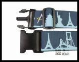 Cinta instantânea ajustável da correia da mala de viagem da bagagem do projeto misturado à moda superior