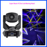 Superträger-Licht der LED-bewegliches Beleuchtung-4PCS*25W