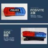 Blinkendes nachladbares Schulter-Licht für Verkehrspolizei
