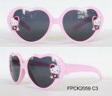 La marque mignonne de lunettes de soleil de gosses de mode badine les glaces de Sun UV400