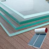 Verre thermique solaire de 3,2 mm 4 mm, verre plat collecteur plat