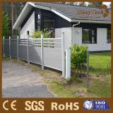 Clôture utilisée par jardin en bois composé en vente, avec WPC clôturant des panneaux