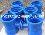 Fonte ductile de raccords de tuyauterie pour l'eau potable Pipeline