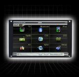 Due sistema dello schermo di tocco di baccano DVD (K130)