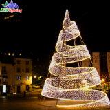 옥외 공원 휴일 훈장 3D LED 크리스마스 나무