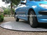 Plataforma giratória estreita do carro do espaço de estacionamento