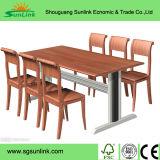 Gute Qualitätshölzerne Gaststätte-Möbel-Stahlsets