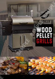 Máquina ao ar livre da grade do BBQ do carvão vegetal comercial