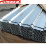 Le mattonelle di tetto ondulate galvanizzate zinco rivestono il materiale da costruzione