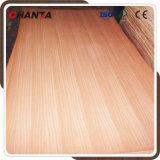 18mm natürlicher Sapele Furnierholz Sapeli MDF für Möbel