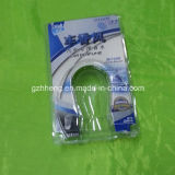 Коробка clamshell дешевого волдыря Clear упаковывая с трудной бумагой (коробка PVC)