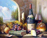 Peinture d'huile Still-Life (004)