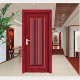 Portello di legno solido interno interno di legno del PVC del comitato (HD-8011)