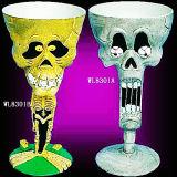 Le meilleur cadeau d'artisanat Set / Halloween Party Fournitures / Vaisselle - Skull Goblet (WL8301)