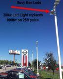 LEDの駐車場の街灯