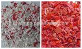 Сортировщица цвета машины Vsee RGB пластичная рециркулируя красная задавленная пластичная