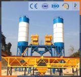 Preço de tratamento por lotes portátil elétrico da planta do misturador concreto