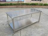 カスタマイズされたステンレス鋼のワークテーブル