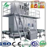 Brick de leche de llenado caja de cartón de embalaje Línea de Procesamiento de la planta de producción