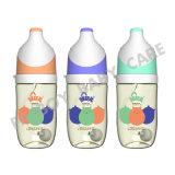 PPSU führende Flasche breiter Mund ohne Griff /BPA frei 180ml