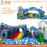 Equipamento macio interno comercial do campo de jogos das crianças engraçadas