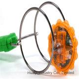 Magnetisches Kreiselkompass-Rad-Jo-Spielzeug-Spinnen betätigt