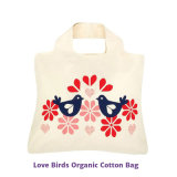Saco de algodão orgânico reutilizável e ecológico