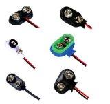 Batterie-Verschlüsse Belüftung-9V oder der ABS für Kameras mit Leitungskabel-Draht