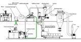 Revestimiento en polvo integrado automático de la línea de producción