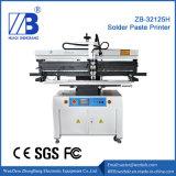 SMT Semiautomática Stencil Stencil Serigrafía/impresora impresoras para la producción de LED PCB Zb32125h