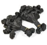 Grau 9um preço grossista Virgem malaio extensões de cabelo Fumi barbeiro