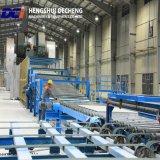 Plasterboard automatico del gesso del macchinario edile che fa macchina