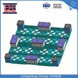 Produtos de armazém 1200*1200*140mm paletes de plástico de HDPE Big Nove pés apoiados para transporte de paletes de plástico