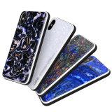 Novo Arrival-Black epóxi de luxo com Nacre TPU caso telefone da série para iPhone