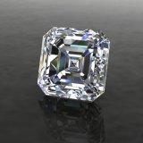Lab cultivadas Pedras Preciosas Charles Colvard 7mm Asscher Cortar Moissanite Comparação Diamante