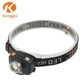 LEDのヘッドライトを感じる新しい小型ヘッドランプ3W IR
